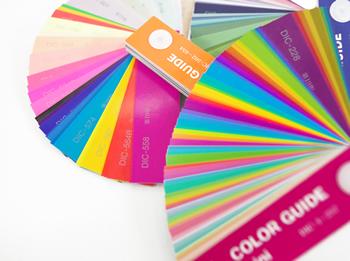 オフセット印刷のカラーガイド