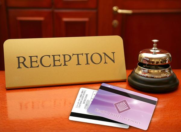 ホテルルームキーカード