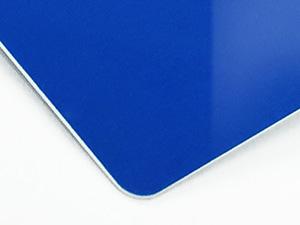 シルク印刷のブルー