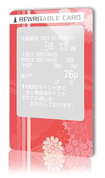 白濁式リライトカード