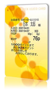 ロイコ式リライトカード