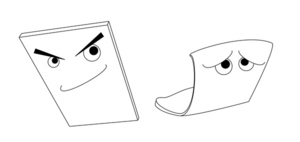 耐熱プラスチックカードイメージ