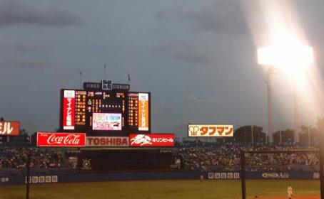 社長と野球観戦!
