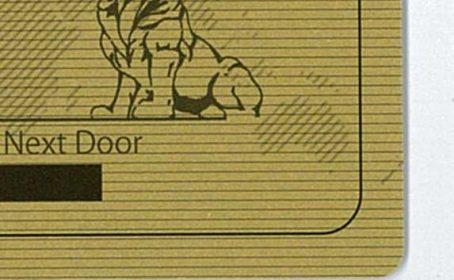 【ICカードのシルク印刷事例】