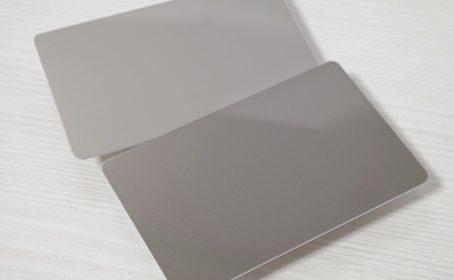 金属カード・メタルカード・ステンレスカード のご紹介