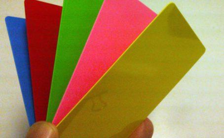 プラスチックカード 印刷 のバリエーションについて