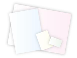 プラスチックカードのサイズについて