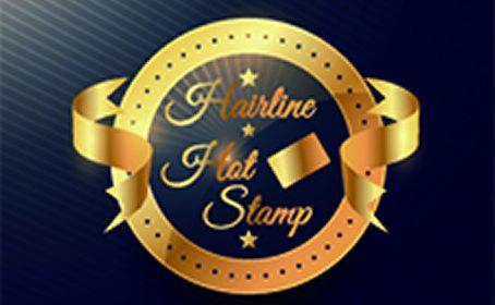ヘアライン・ホットスタンプカードのご紹介