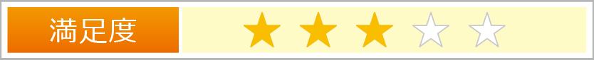 評価の星の数